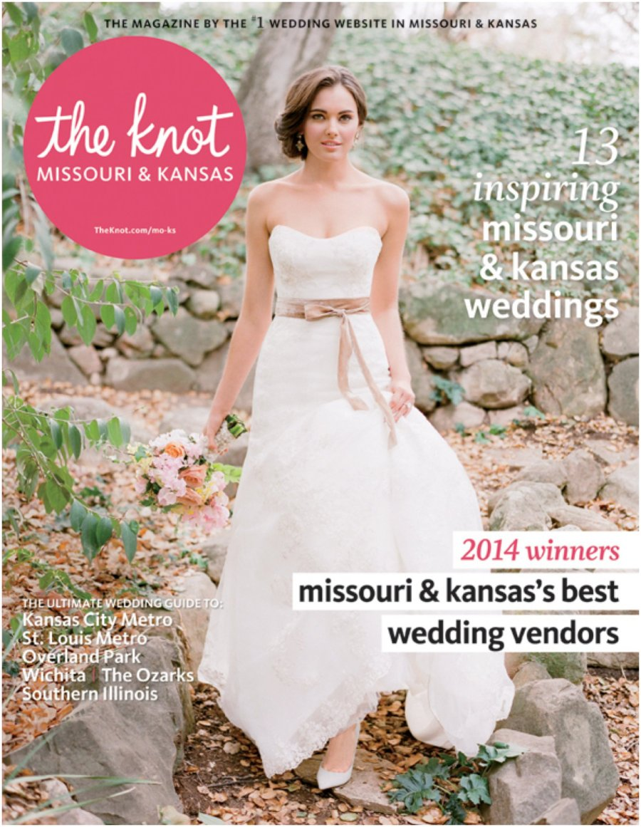 Alea Lovely Published in The Knot Magazine | Alealovely.com