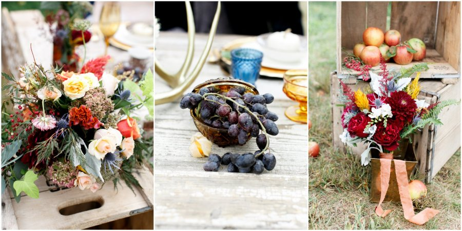 Earthy Fall Inspiration Wedding By Alea Lovely Photography and Victorian Gardens Floral Design
