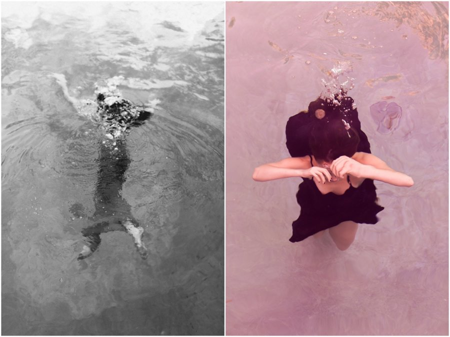 LA underwater photos with KAtherine Hughes by Alea Lovely