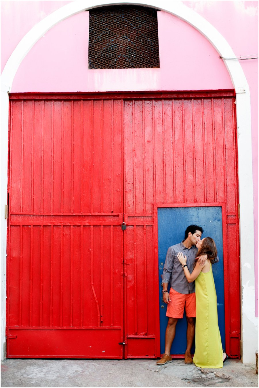 Old San Juan , Puerto Rice Engagement Session