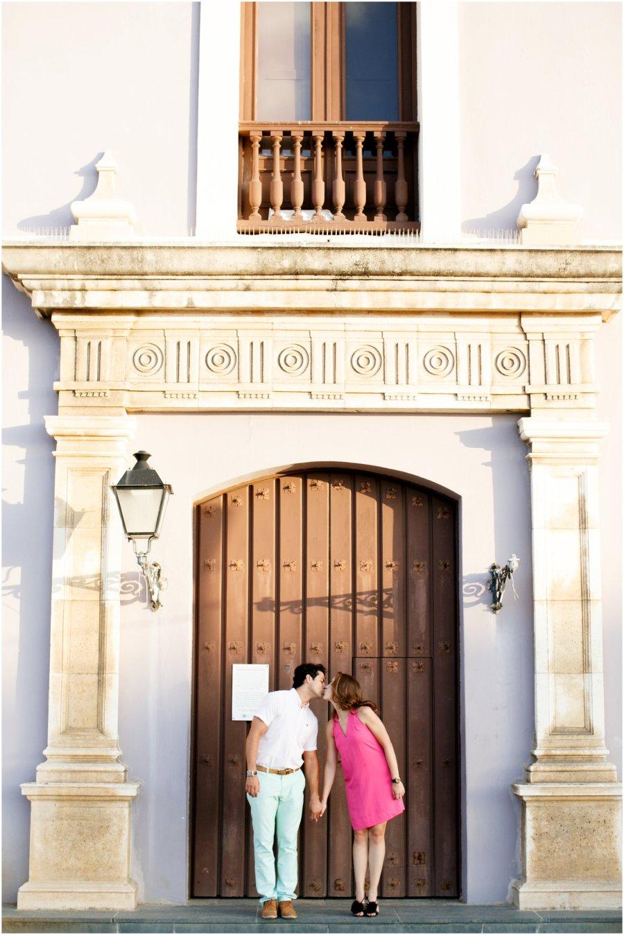 Old San Juan , Puerto Rice Engagement Session
