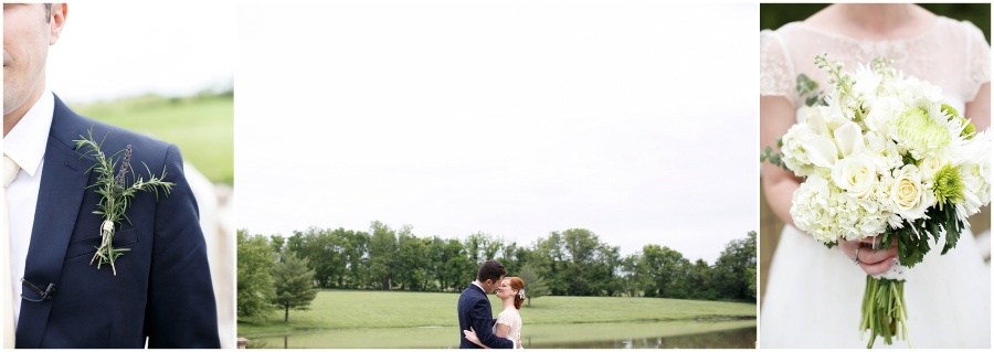 Farm Wedding in Kansas City by Alea Lovely