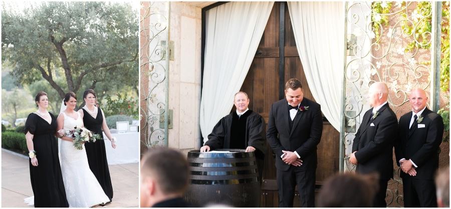 Napa Valley, California Viansa Winery Wedding by Alea Lovely